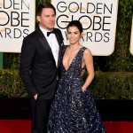ChanningTatum JennaDewan 150x150 Golden Globes 2016: i look sul red carpet