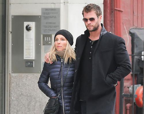 Chris Hemsworth 3 Chris Hemsworth a New York con Elsa