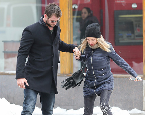 Chris Hemsworth2 Chris Hemsworth a New York con Elsa
