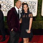 DwayneJohnson LaurenHashian 150x150 Golden Globes 2016: i look sul red carpet