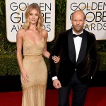 JasonStatham RosieHuntingtonWhiteley 150x150 Golden Globes 2016: i look sul red carpet