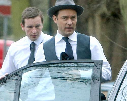 Jude Law Jude Law a Londra con Phillipa