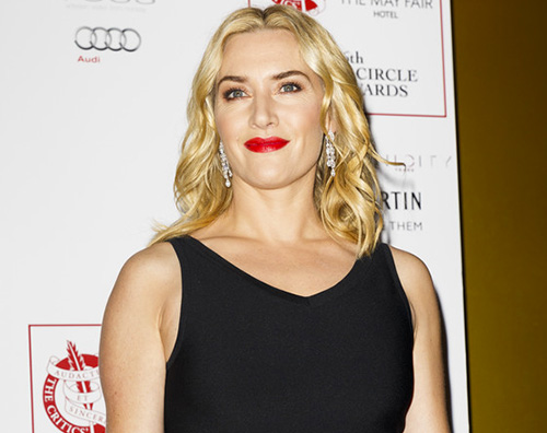 Kate Winslet 2 Kate Winslet a Londra in total black