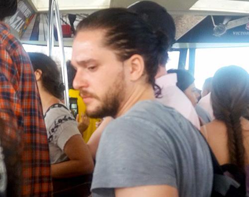 Kit haringtonw Kit Harington è un turista a Rio de Janeiro