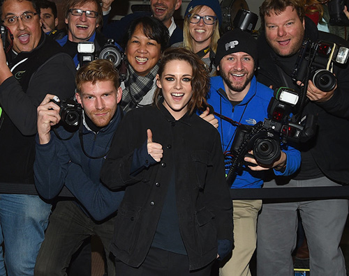 Kristen Stewart 2 Kristen Stewart casual per il Sundance Film Festival 2016