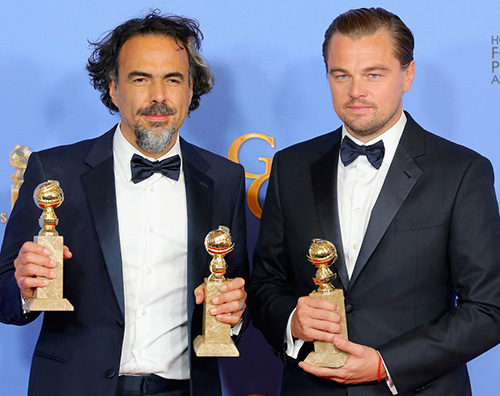 Leonardo DiCaprio Golden Globes 2016: la lista dei vincitori