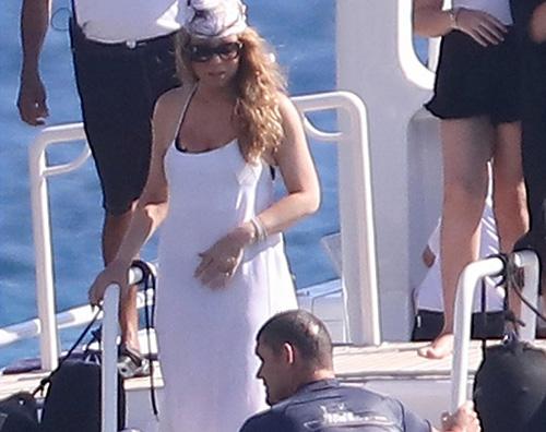 Mariah  Mariah Carey a St. Barts con James