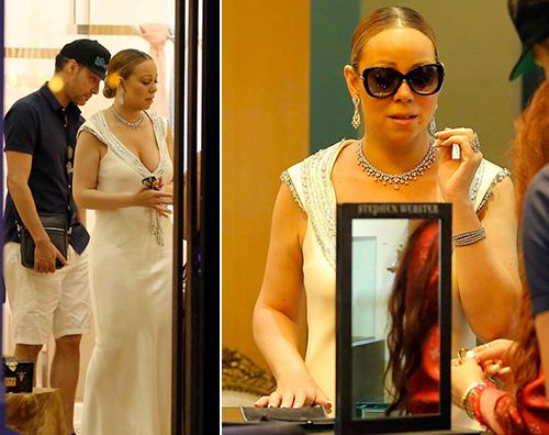 Mariah Carey Mariah Carey a St. Barts con James