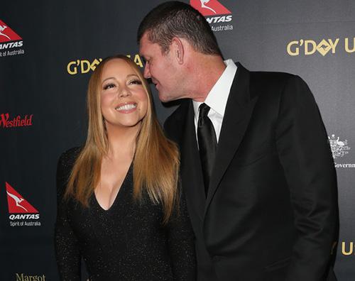 Mariah Carey2 Hugh Jackman con Deborra al GDay