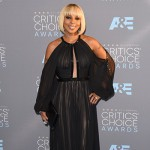 MaryJBlige 150x150 Critics Choice Awards 2016: gli arrivi sul red carpet