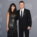 Matt e LucianaDamon 150x150 Critics Choice Awards 2016: gli arrivi sul red carpet
