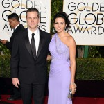 MattDamon LucianaDamon 150x150 Golden Globes 2016: i look sul red carpet