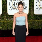 MauraTierney 150x150 Golden Globes 2016: i look sul red carpet