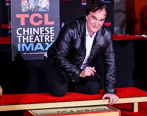 Quentin Tarantino 2 Quentin Tarantino ha lasciato le sue impronte al Chinese Theatre