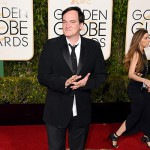 QuentinTarantino 150x150 Golden Globes 2016: i look sul red carpet