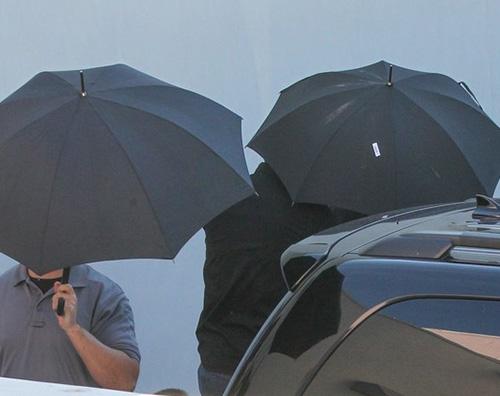 Taylor Swift Taylor Swift arriva in palestra con i bodyguard
