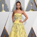 AliciaVikander 150x150 Oscar 2016: gli arrivi sul red carpet