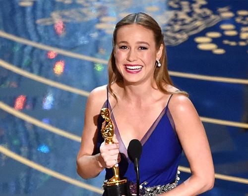 Brie larson Oscar 2016: Leonardo DiCaprio è il Miglior Attore