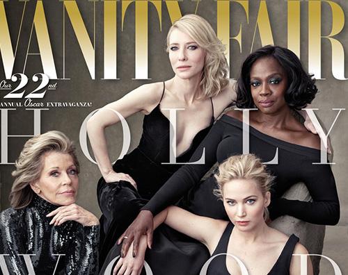 Cover Le attrici premio Oscar star della nuova cover di Vanity Fair