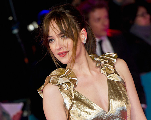 "Dakota Johnson 2 Dakota Johnson ""Non sono incinta"""