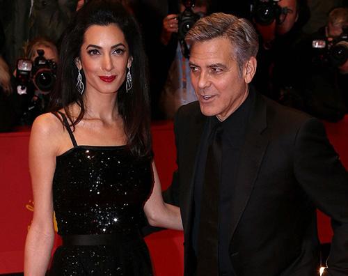 George Clooney Amal Alamuddin E' ufficiale: George e Amal aspettano due gemelli!