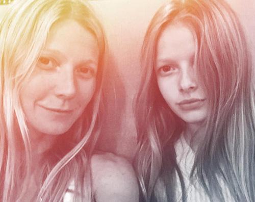 Gwyneth Paltrow Apple Martin Gwyent Paltrow e Apple Martin: selfie madre figlia