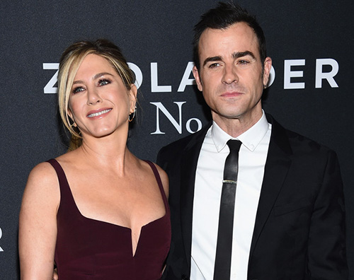 Jennifer Aniston Justin Theroux 2 Justin Theroux hot sul set di The Leftovers