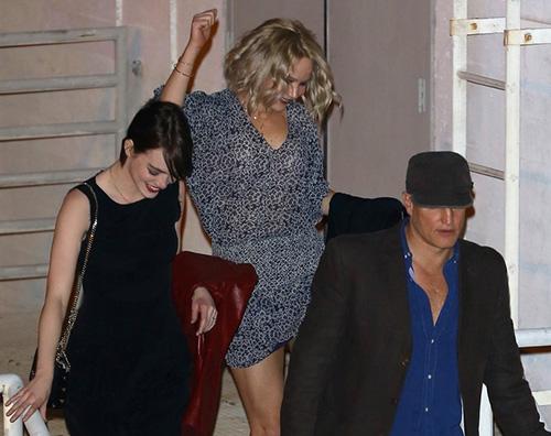 Jennifer lawrence Emma sTONE Jennifer Lawrence, fine settimana tra amici
