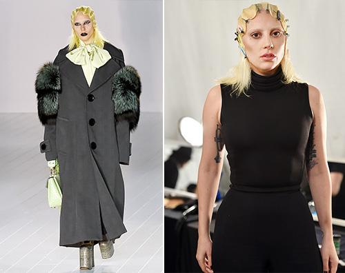 Lady Gaga 2 1 Lady Gaga è una modella per Marc Jacobs