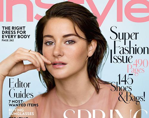 Shailene Woodley Shailene Woodley sulla cover di In Style