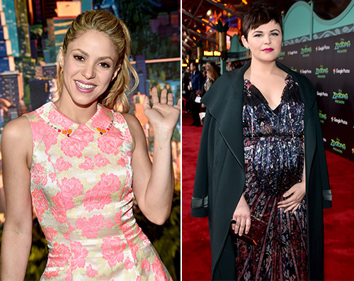 Shakira Jinnifer Goodwing Shakira e Ginnifer Goodwin presentano Zootropolis a Hollywood