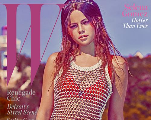 cover Selena Gomez parla di Justin Bieber su W Magazine