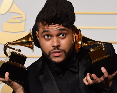 the Weeknd Grammy 2016: la lista dei vincitori