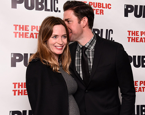 Emily Blunt 2 Emily Blunt, il pancino cresce