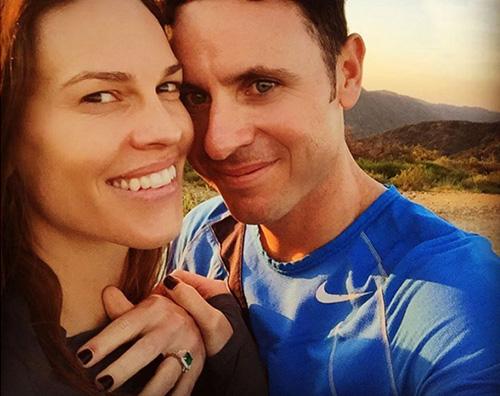 Hilary Swank Hilary Swank si è fidanzata