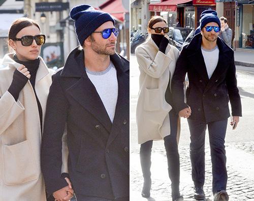Irina Shayk Bradley Cooper Bradley Copper e Irina Shayk si godono Parigi