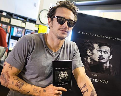 James Franco 2 James Franco a West Hollywood per promuovere il suo libro