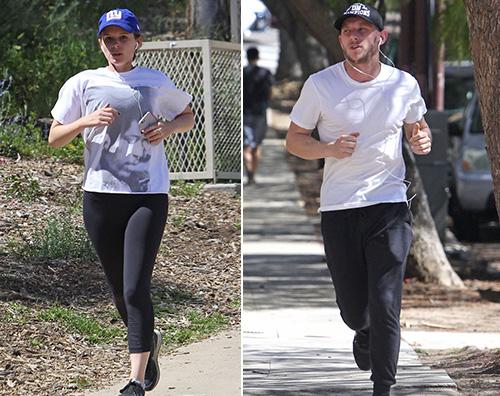 Jamie bell kate mara Jamie Bell e Kate Mara, allenamento di coppia a LA
