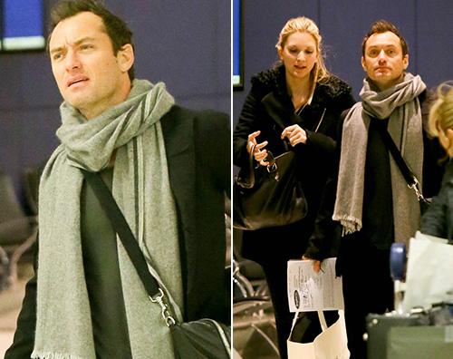 Jude Law Jude Law a New York con Phillipa