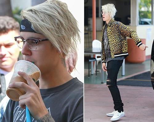 Justin Bieber  Justin Bieber cambia look