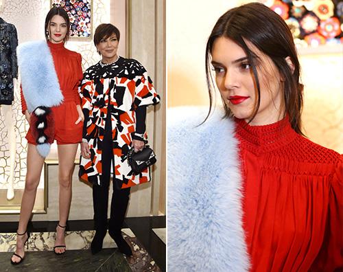 Kendall Jenner Kendall Jenner a Roma per Fendi