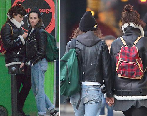 Kristen Stewart 1 Kristen Stewart mano nella mano con la (presunta) nuova fiamma