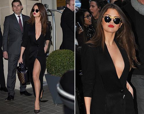 Selena Gomez 1 Selena Gomez, senza biancheria intima a Parigi
