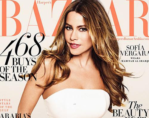 Sofia Vergara Cover Sofia Vergara parla della maternità su Harpers Bazaar Arabia