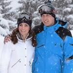 William e Kate 2 150x150 Kate e William sulle Alpi francesi con George e Charlotte