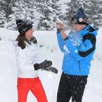 William e Kate 3 150x150 Kate e William sulle Alpi francesi con George e Charlotte