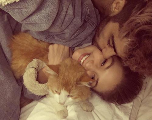 Zayn Malik Gigi Hadid Gigi Hadid e Zayn Malik teneri su Instagram