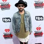 A.J. McLean 150x150 IHeartRadio Music Awards 2016: il red carpet e la lista dei vincitori