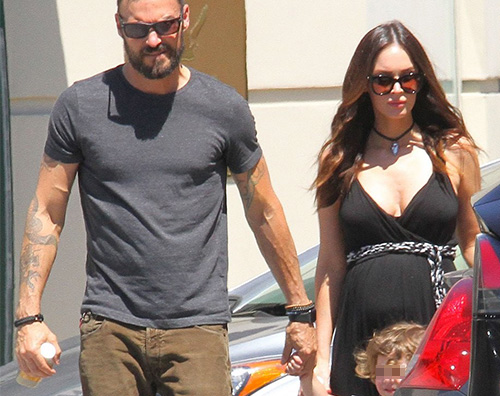 Brain Megan Brian Austin Green è il padre del terzo figlio di Megan Fox