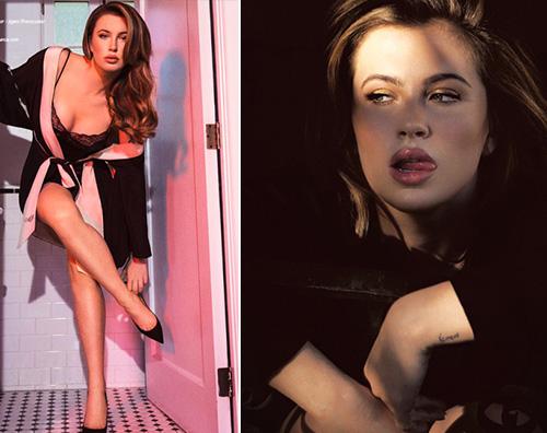 Ireland Ireland Baldwin, sensuale come mamma Kim su Schon! Magazine